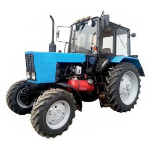 Оборудование тракторов «Беларус» газомоторной установкой